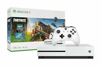 Xbox One S 1TB Fortnite Bundle -Full-game download of Fortnite Battle Royale New