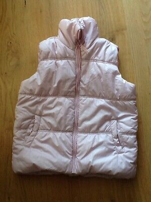 Next pink girls gilet, body warmer age 9-10 years