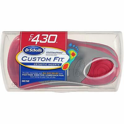 Bayer Dr.Scholls CF430 Custom Fit Orthotic Inserts
