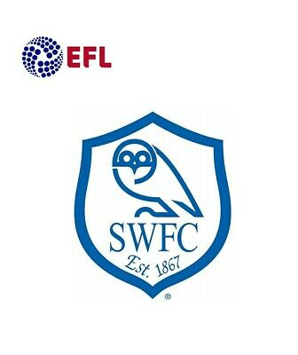 6 HIGH SHEFFIELD WEDNESDAY SWFC LOGO FOOTBALL WINDOW STICKER CHOICE OF COLOURS Vehicle Parts & Accessories