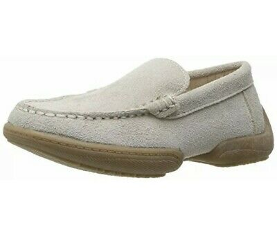 NWT NEW Boys Kenneth Cole Reaction Driving Dime Loafer Shoe Sand Big Kid Size 4