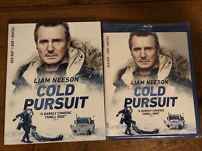 Cold Pursuit blu ray DVD Digital Brand New with slipcover