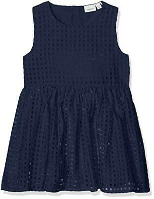 (TG. 104) Name It Nitfreja Spencer Wl Mz, Vestito Bambina, Blu (Dress Blues Dres
