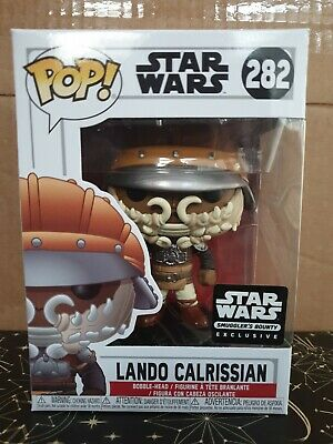 Funko Pop Vinyl - Star Wars #282 Lando Calrissian Skiff -new - Smuggler's Bounty