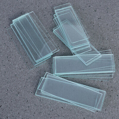 50Pcs Blank Microscope Slides 150x Square Cover Glass for Optical Microscope