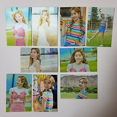TWICE TWAIIS TWAII'S  SHOP OFFICIAL POP-UP IN SEOUL KOREA TRADING CARD (7pcs)
