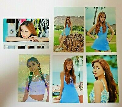Twice Twaiis Twaii's  Shop Official Pop-Up In Seoul Korea Trading Card Tzuyu