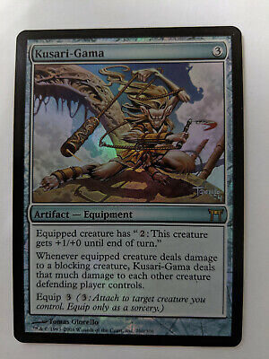 Champions of Kamigawa  MTG  Foil  Kusari-Gama  Magic