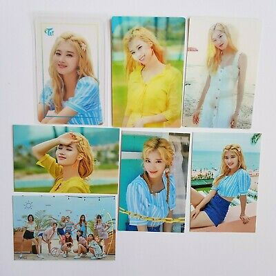 TWICE TWAIIS TWAII'S  SHOP OFFICIAL POP-UP IN SEOUL TRADING CARD SANA (7pcs)