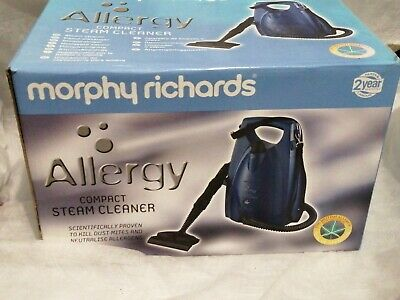 Morphy Richards Allergy Compact Steam Cleaner Model No 70452