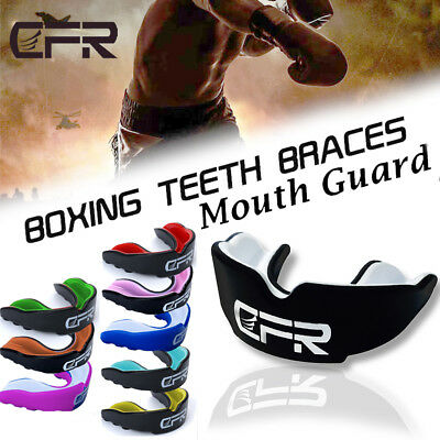 Gel Gum Shield Mouth Guard MMA Boxing Rugby Teeth Protection for Men & Women GW