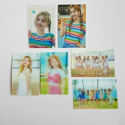 Twice Twaii's Shop Official Pop-Up Seoul Korea Transparent+Photo Card - Dahyun