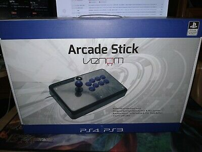Venom Official Sony PlayStation Licensed 8-Button Arcade Stick (PS4 / PS3)