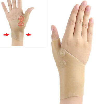 1PC Gloves Wrist Support Hand Thumb Massage Magnetic Pain Relief Therapy