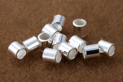 2mm x 2mm Sterling Silver Tube Crimp #BSB047