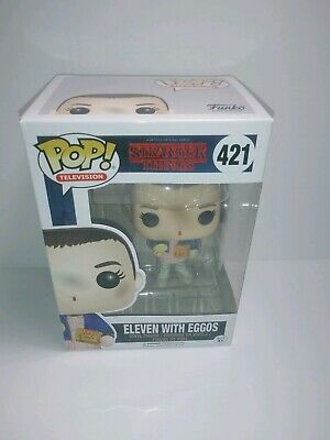 Funko Pop! Television: Stranger Things - Eleven With Eggos 421 Vinyl