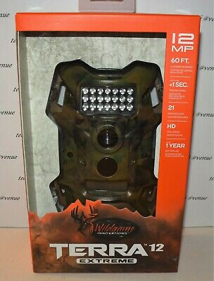 Wildgame Innovations Terra Extreme 12MP HD Infrared Digital Scouting Game Camera