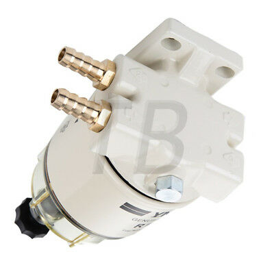 Fuel Fittings Marine Spin-on Fuel Filter Water Separator R12T For RACOR