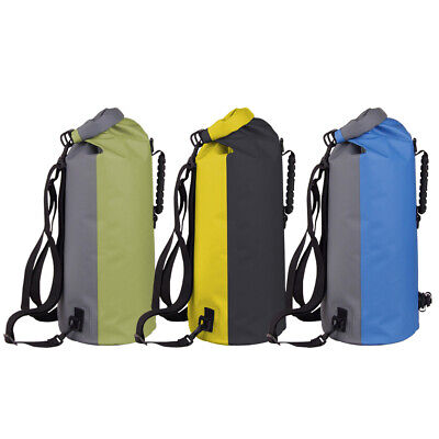 5/10/20/60L Dry Bag Military Waterproof PVC Floating Backpack Canoe Kayak Drift