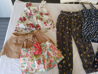 Size 7 girls clothing bundle 8 items clothes