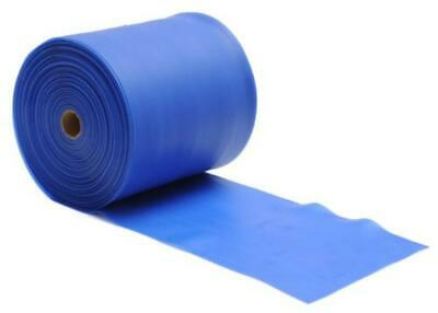 (TG. blau, strong) Yogistar Banda Elastica per Pilates, Senza Lattice, 25M Rotol