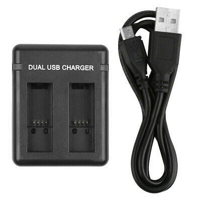Dual/Three Port Slot Battery Charger For GoPro Hero 7 6 5 Black Cam With USB Cab