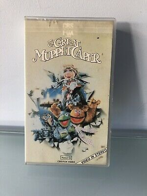 The Great Muppet Caper VHS 1981