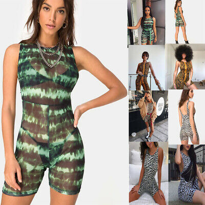 Lady Sexy Romper Stretch Gym Yoga Sports Athletic jumpsuits for women  Bodysuit