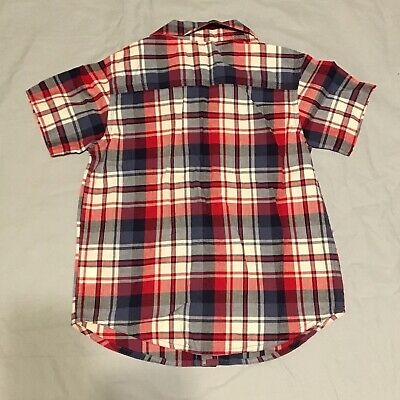 The Childrens Place Boys Size 4T Short Sleeve Button Up Shirt