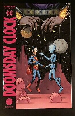 Gary Frank A Cover WATCHMEN variant Ships 9-4-19 of 12 Doomsday Clock #11