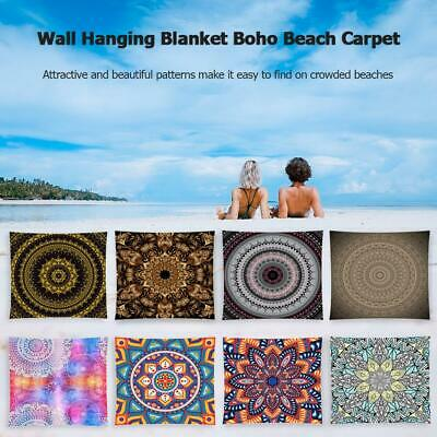 Large Indian Tapestry Wall Hanging Mandala Hippie Bedspread Pads Bohemian Cover