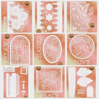 Butterfly Holly Lace Frame Metal Cutting Dies Stencils DIY Scrapbooking Carfts