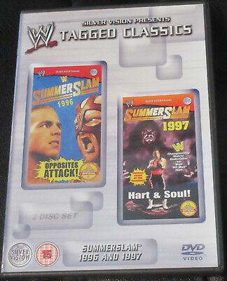 WWE Tagged Classics SummerSlam 1996 And 1997 Two Disc DVD Set