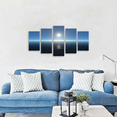 Sea Surface Scenery Wall Painting Canvas Unframed Art Print Picture Hom THQ