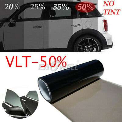 """US Uncut Window Tint Roll 50% VLT 20"""" 10ft Feet Home Commercial Office Auto Film"""