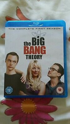 NEW The complete first 1 season The Big Bang Theory Bluray IN STOCK - AUS SELLER
