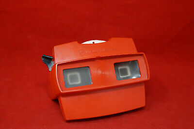 gaF VIEW MASTER MICKEY MOUSE MADE IN BELGIUM ROT
