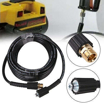 10m M22 Female to M22 Female Pressure Washer Hose Jet Power Wash Extension