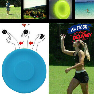 Zip Chip ZipChip Flying Disc Mini Pocket New Spin Flexible Catching Game