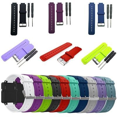 Silicone Replacement Wrist Strap For Garmin Vivoactive With Tool Greaat #hufe