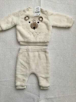 Next Baby Boys Newborn, Upto 1 Month Fleece Outfit Bnwt Combined Postage