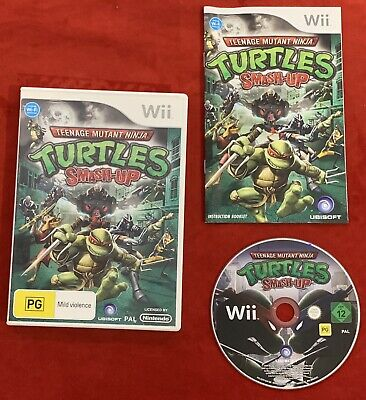 Teenage Mutant Ninja Turtles Smash-Up Game for Nintendo Wii / Wii U PAL