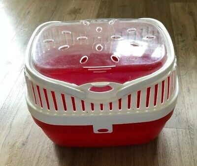 Ferplast Small Animal Pod Carrier - Red Large