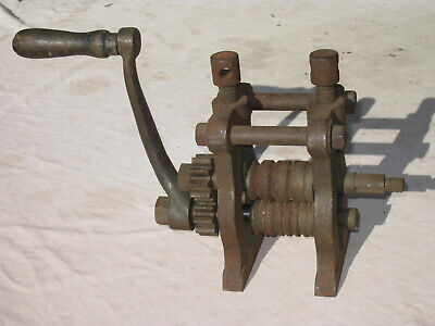 Vintage Jewellers Roller Machine Roll Swage Jewellery Antique Ring Simpson Mill