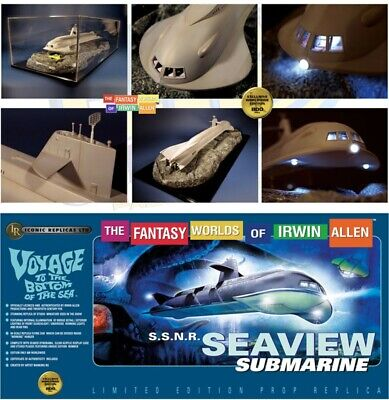 ICONIC REPLICAS SEAVIEW Submarine Voyage to the Bottom of the Sea Prop Replica