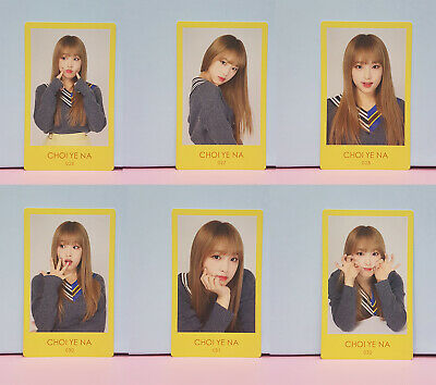 IZ*ONE IZONE JAPAN Suki to Iwasetai Showcase Photocard Choi Yena
