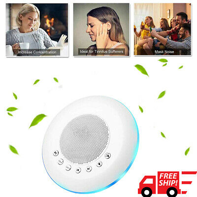 White Noise Mini Deep Sleep Baby Sound Therapy Machine Solution  Peace Nature