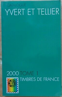 Catalogue Yvert et Tellier, tome 1, France, 2000