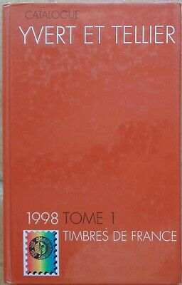 Catalogue Yvert et Tellier, tome 1, France, 1998