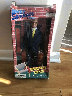 Vintage Jerry Springer Show Collector's Edition Doll Figure Toy 1998